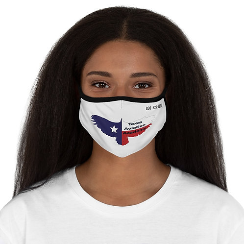 TAA Logo Fitted Polyester Face Mask