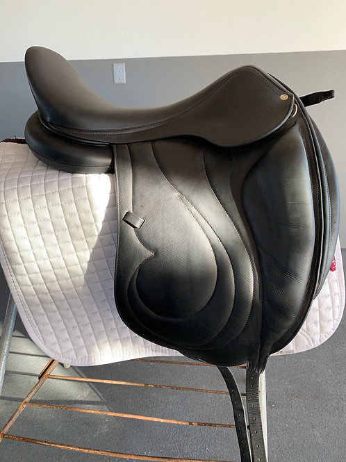 "Antares Cadence Dressage Saddle, 18.5"" Seat"