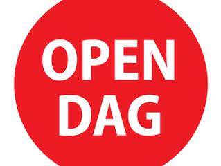 Zaterdag 21 september: OPEN DAG