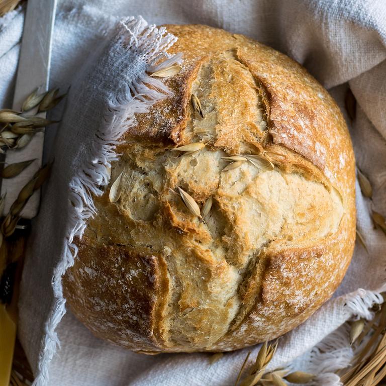 Brotbacken im Holzofen