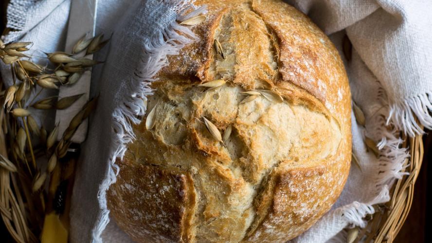 No-Knead, No-Fail Freshly Baked Bread