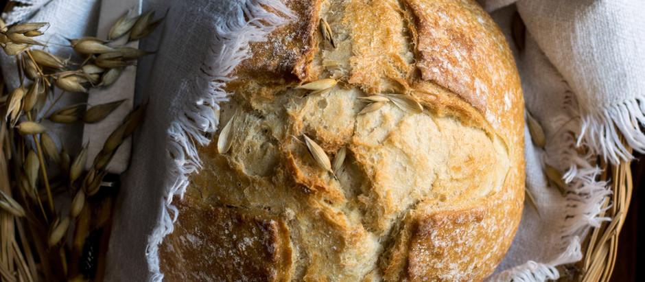 Receita: meu primeiro pão