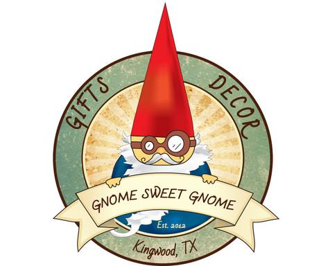 Gnone Sweet Gnome Logo