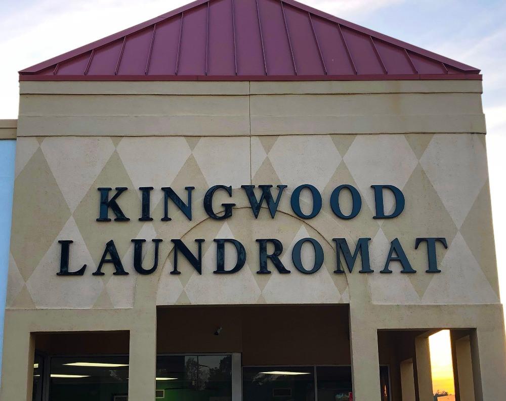 Kingwood Laundromat Letters