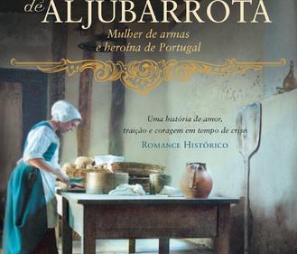 """Novidade: Edição BIS do livro """"Padeira de Aljubarrota"""", de Maria João Lopo de Carvalho"""