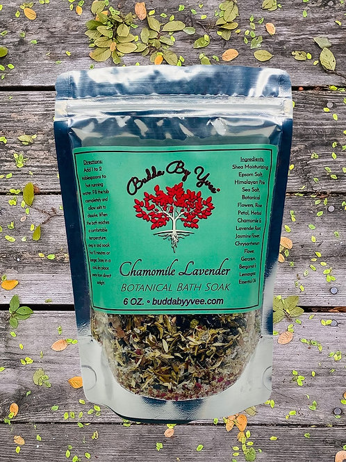 Chamomile Lavender Botanical Bath Soak
