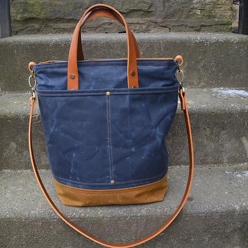 The Discovery Bag, Waxed Bag, Everyday Bag