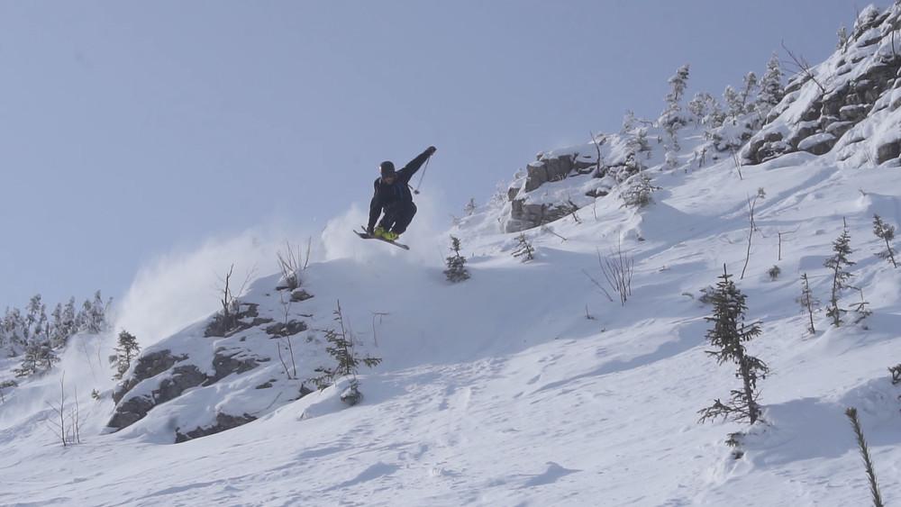 Skiing mont lyall backcountry touring freeski