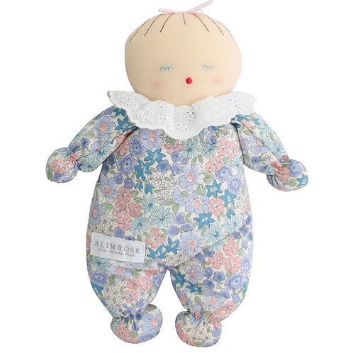 Poupon (Asleep Awake Baby Doll) - Liberty Blue