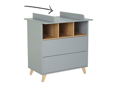 (08) Loft (Gray) Baby changing extension
