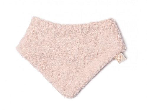 Bavoir bandana nouveau-né So Cute (rose clair)