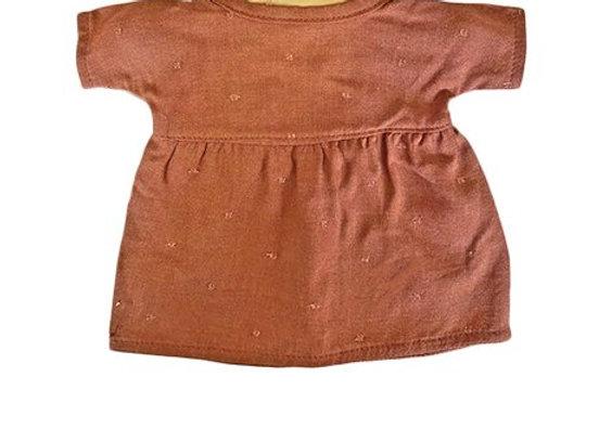 Robe Faustine pour poupée Minikane