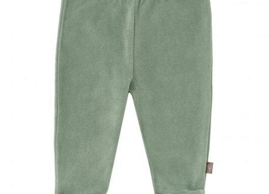 Pantalon avec pieds velours