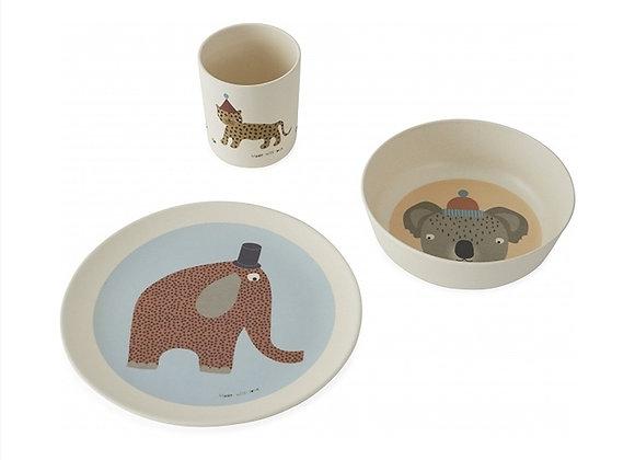 Set de vaisselle Hathi