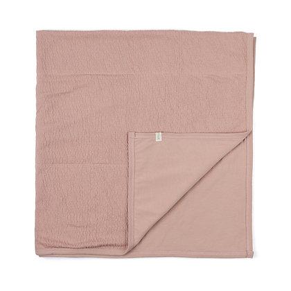 Couverture rose blush