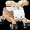 Thumbnail: Wishbone - Porteur mini Flip (blanc)