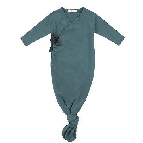 (09) Gigoteuse noeud (bleu canard)
