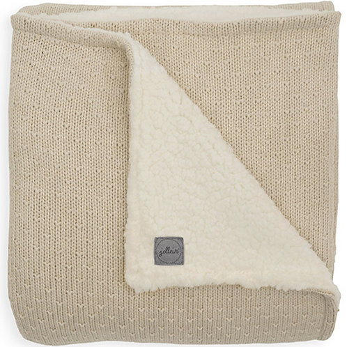 Couverture tricot Teddy Bliss Knit (nougat)