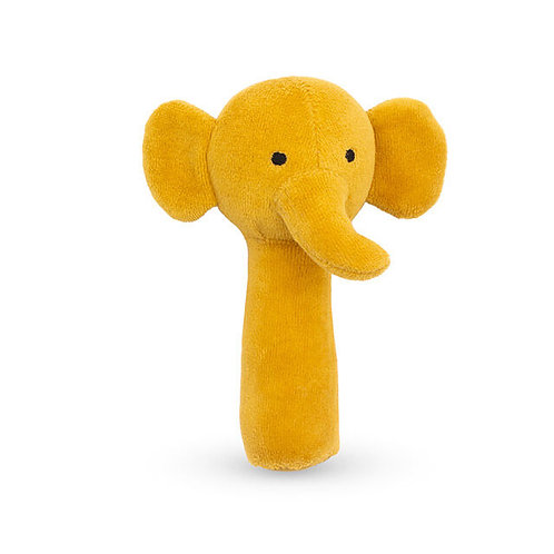 (05) Hochet Elephant (moutarde)