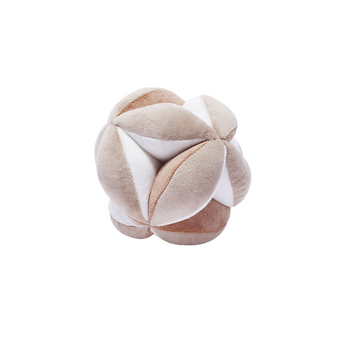 Montessori ball (nougat / white)
