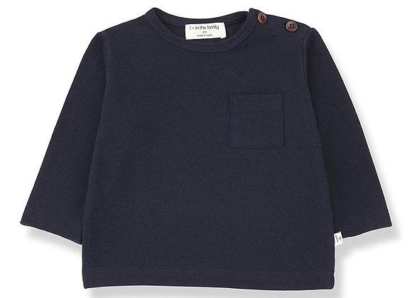 Tshirt ANETO (bleu marine)
