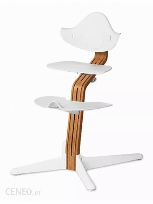 Chaise haute NOMI : structure bois (au choix)