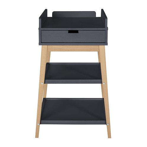 Table à langer Hip avec tiroir (Moonshadow/naturel)