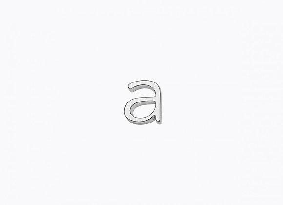 """Gri-gri """"Alphabet""""(finition argent)"""