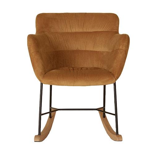 Chaise berçante compacte