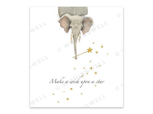 """Make a wish upon a star"" (+enveloppe)"