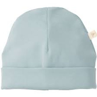 (09) Bonnet naissance coton (ether blue)