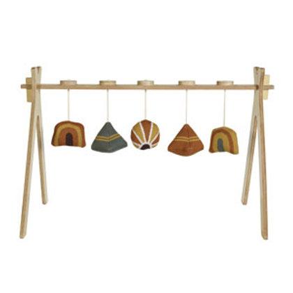 (07) Arche de jeux en bois