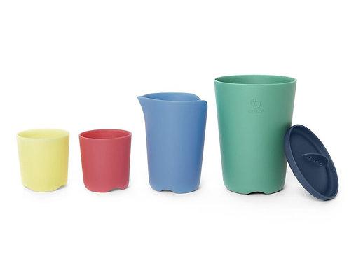 (05) Jouets de bain : Tasses empilables