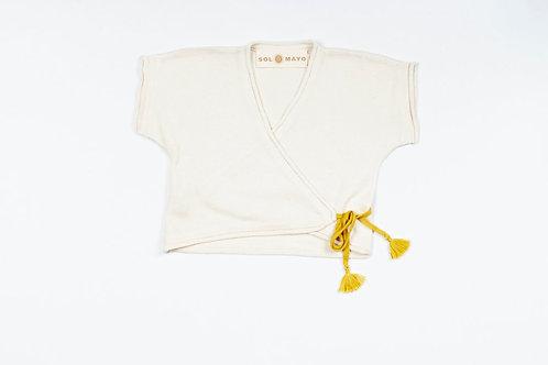 (03) LAZY cardigan (écru/korma)