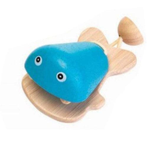 Castagnette en bois (bleu)