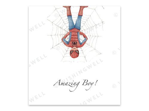 """Carte """"Amazing Boy"""" (+enveloppe)"""