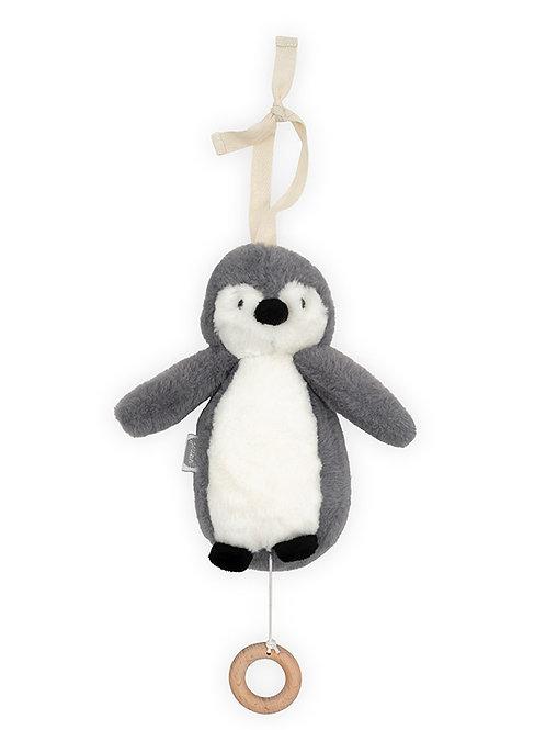 Peluche musical (pingouin)