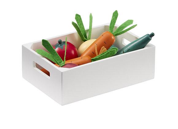 Caisse de légumes mix