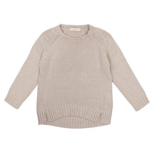 Pull tricot cachemire (écru)