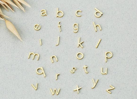 "Gri-gri ""Alphabet""(finition or)"