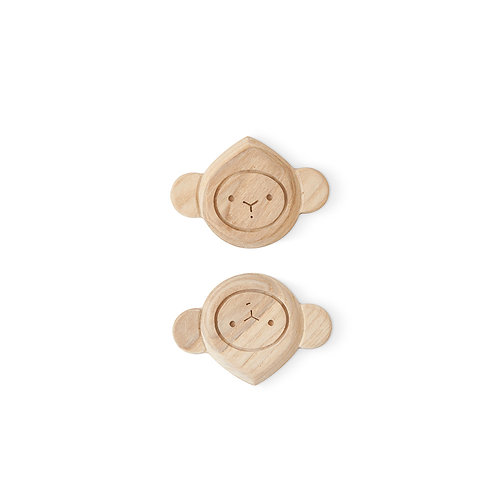 "Hochet/anneau de dentition ""monkey"""