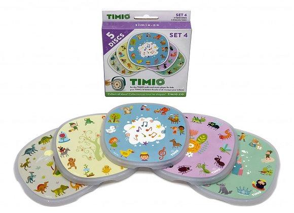 TIMIO : Set de discs 4