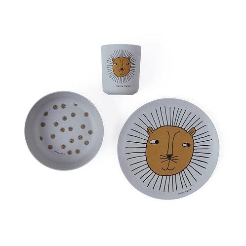 (06) Set de vaisselle Lion