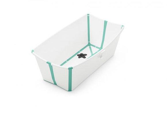 (03) Kit de bain : baignoire pliable et transat pour bébé