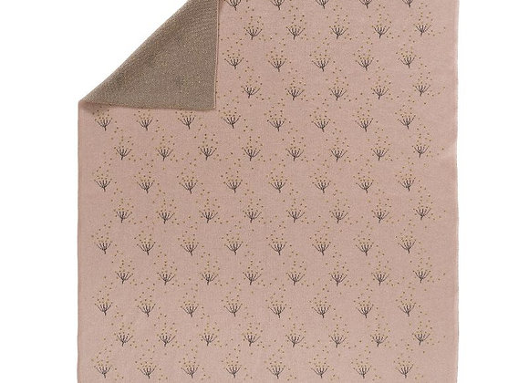 Couverture tricot Dandelion
