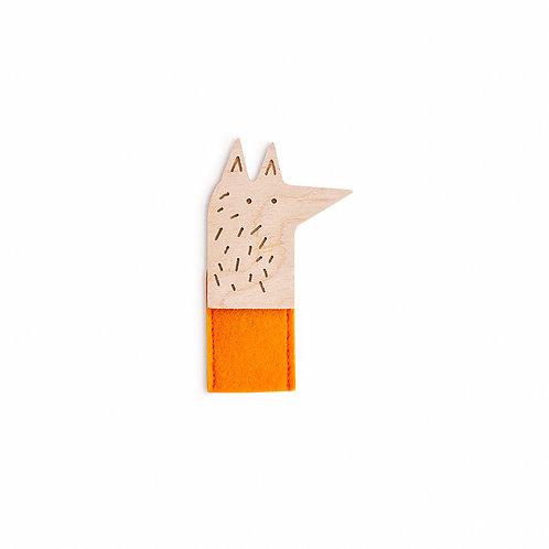 Marionnette doigt (renard)
