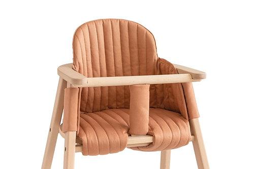 #Growing Green - Coussin pour chaise haute évolutive (sienna brown)