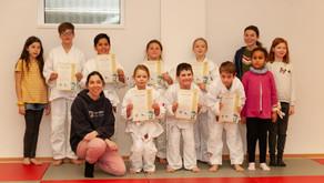 Die Kinder-Ju-Jutzu-Gruppe des TSV Nieder-Ramstadt e.V. wächst weiter