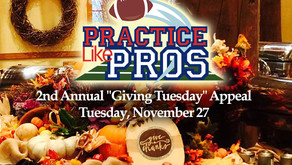 Happy Thanksgiving from Practice Like Pros!