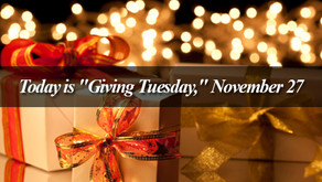 """2nd Annual """"Giving Tuesday"""" Appeal"""